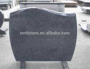 European Style Cheap Customized G654 Granite Headstone