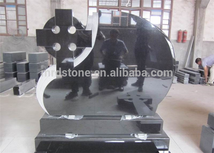 China online shopping G654 cross granite tombstone with cheap prices