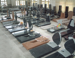 Professional Factory Custom Made Polished Granite Monument Wholesale Tombstone For Italy