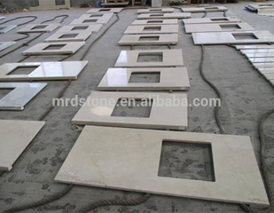 Natural Price Per Square Meter Kitchen Worktops Beige Botticino Classico Marble