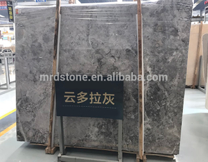 China Factory Nature Stone Silver Tundra Grey Marble