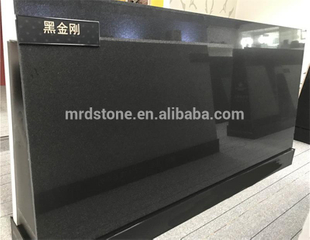 Hot Selling Engineering Artificial Black Quartz Stone Slab
