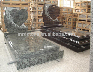 Wholesale China Carving Stone Granite Heart Shaped Tombstone Headstone