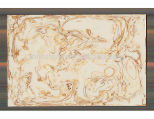 High Quality Chinese Polished Artificial Orange Onyx Stone
