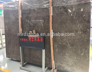 Chinese Square Meter Nature Turkey Silver Grey Emperador Marble