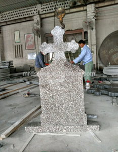 Wholesale Simple Design G664 Granite Blank Cross Tombstone