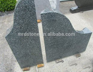 Manufacturer Customized Green Granite Cheap Upright Headstone