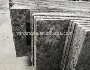 Chinese Nature Stone Kitchen Alaska White Granite Countertop Prices