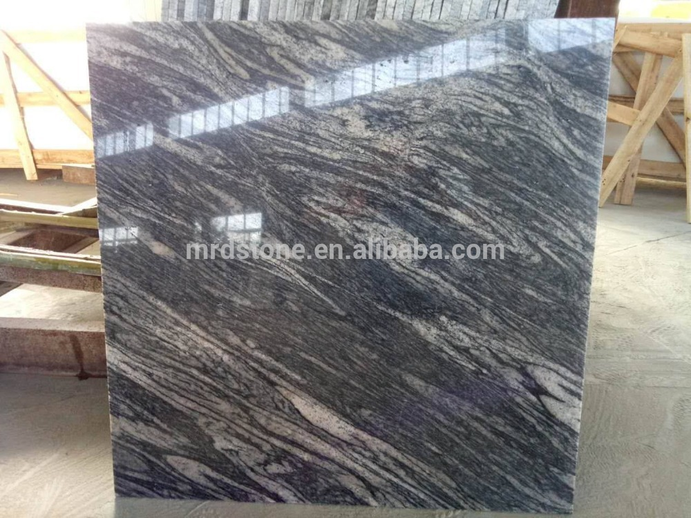 China Juparana Polished Granite Floor Tiles for living room