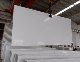 Factory Direct Artificial Kitchen Countertops Stone Pure White Quartz