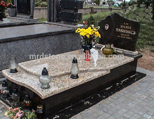 Wholesale Poland Style Verde Ubatuba Granite Used Headstones For Sale