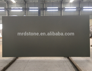Hot-Sell SGS Approved Customized Artificial Dark Pure Grey Quartz