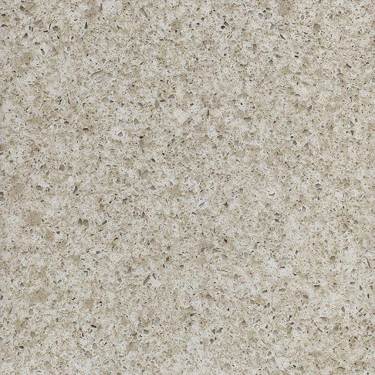 Factory Supplier Beige Multicolor Artificial Oem Quartz Stone
