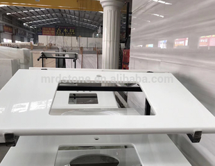 Hot Selling Pure Ice White Quartz Countertop