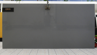Cheap CE Approved Artificial Polished Stone Grey Quartz Countertops