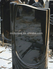 Cheap China Modern Design Black Granite Headstone