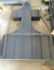 Chinese Romania Style G654 Granite Large Cross Headstones