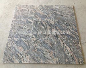 Best Selling Products New Floor Grey China Juparana Granite Tiles