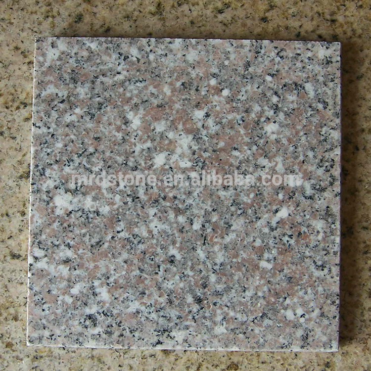High Quality G617 Pink Polished 2Cm Thick Granite Floor Tiles