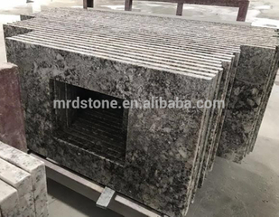 Top Quality Nature Stone Elegant Snowflake Alaska White Granite Kitchen Countertop