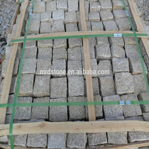 Natural stone G682 cube stone granite paving stone tile for garden
