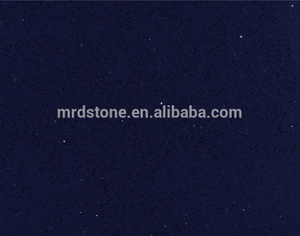 Kitchen Top crystal blue quartz stone slab