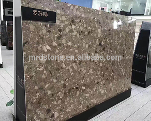 Best price artificial stone man-made marble for countertops