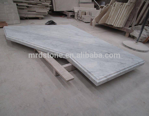Cheap Price Countertop Natural White Marble Carrara Counter Top