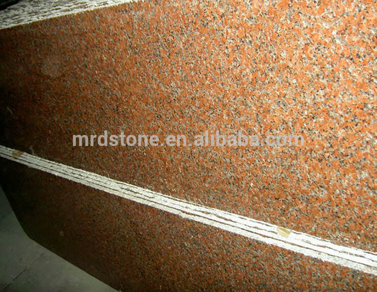 Cheap Price Chinese Polished Maple Red G562 Granite Slab