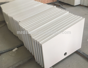 Wholesale Artificial Stone Pure Snow White Quartz Countertop