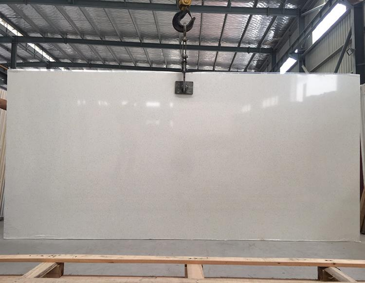 100% Export Standard Wholesale Low Price Artificial White Quartz Stone Slab