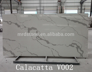 Factory Supplier Artificial Stone White Calacatta Quartz Stone Product