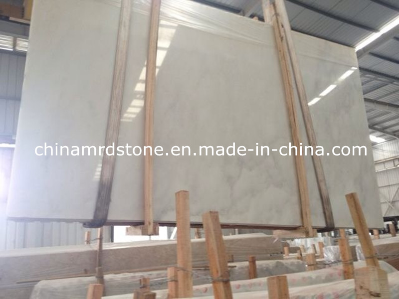Popular Calacatta White Marble with Floor Tile or Slab