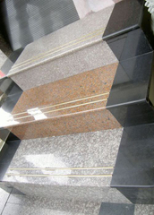 Customize Diffent Color China Natrual Granite Stone Staircase
