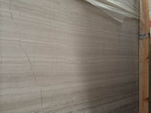 Marble Big Slabs Wooden Grey for Decoration