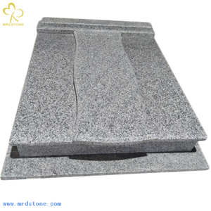 High quality New G439 Grey granite tombstone for Poland