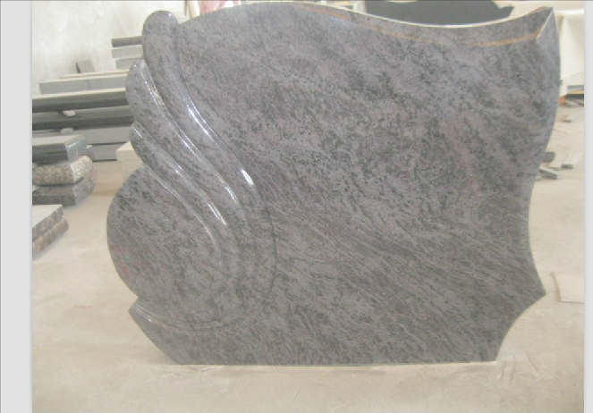 European Style Polished Granite Monument Tombstone