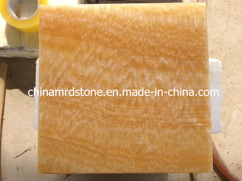 Natural Honey Onyx Tile for Countertop or Mosaic