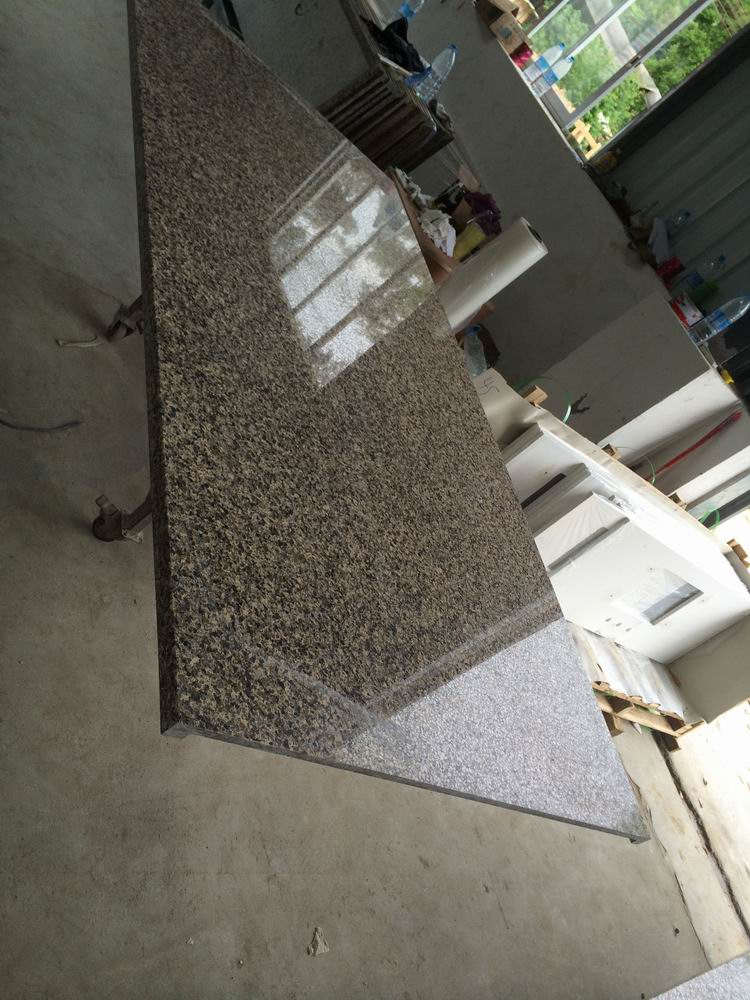 Artificial Quartz Brown Color Counter-Top