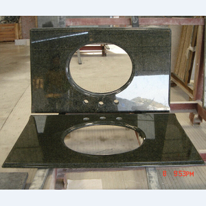 Uba tuba vanity top from rich stone
