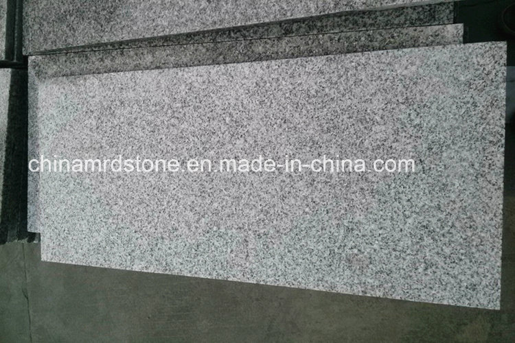 New Quarry Hubei G603 Light Grey Flamed Granite Paver