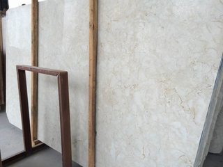 Marble Slabs Beige Color for Kitchen Tiles