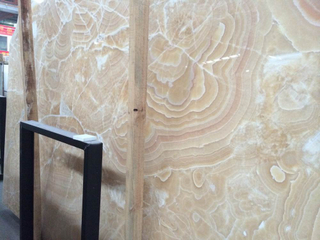 Marble Yellow Onxy Big Slabs for Decoration