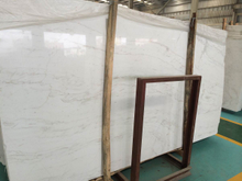 Wholesale New Quarry Volakas White Marble Slab and Tile