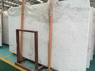 Construction Materia Marble White Slabs for Floor Tiles