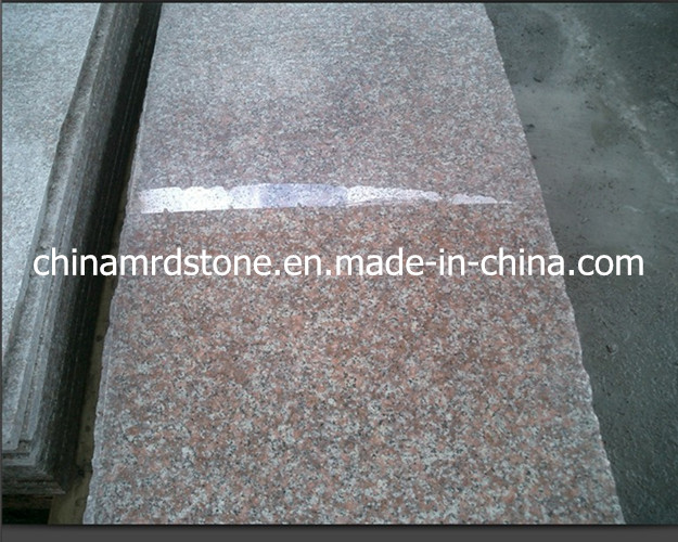 Polished China G687 Peach Red Granite with Lowest Price