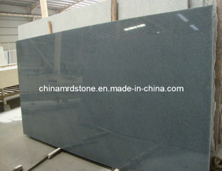 Polished Padang Dark Granite Slab for Tombstone or Paving