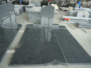 Padang Dark G654 Granite Monuments for European Market